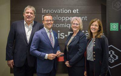La Zone entrepreneuriale reçoit 500 000$ de Desjardins