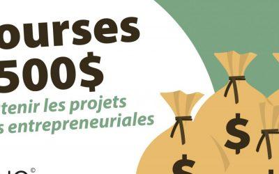 5 bourses de 500 $ pour soutenir les enseignants dans le développement de projets à valeurs entrepreneuriales