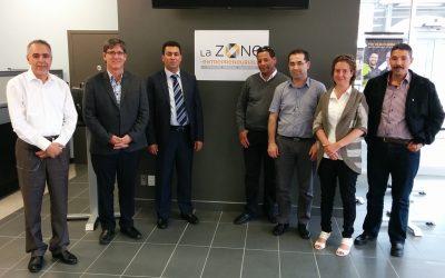 Une délégation de Tunisie visite la Zone entrepreneuriale