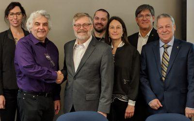 Collaboration potentielle suite à un panel animé – Rapprochement entre le PEEC et l'INRPME